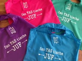 fan TAS tische JUF opvouwbaar meeneemtasje voor juf