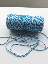 Blauw/wit bakkerstouw