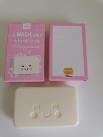 I WASH you lots of love & happiness, rose (DL)