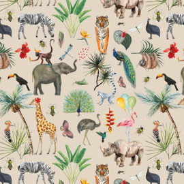 Cadeaupapier jungle 70x 200 cm