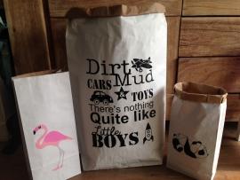 paper bags XS en XXL