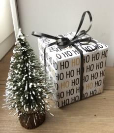 Inpakpapier HO HO HO kerstpapier