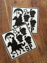 Kleine DIY sint Stickertjes