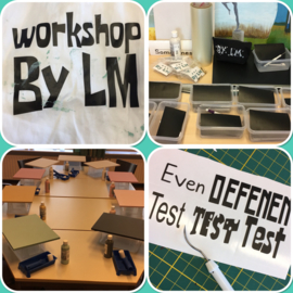 Workshop tekstbord maken