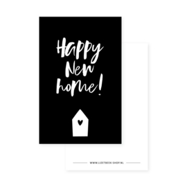 Minikaartje  happy new home