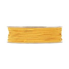 Elastisch koord, geel  5 meter