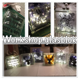 Workshop glasblok