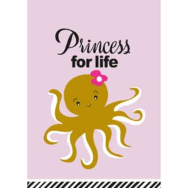 Ansichtkaart Princess for life