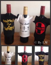 Mini shirt voor fles wijn