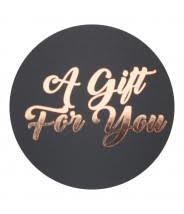 a gift for you (sluit)sticker