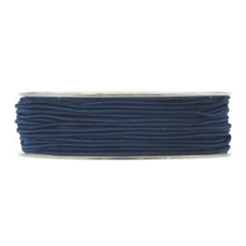 Elastisch koord, blauw 5 meter