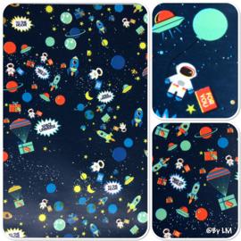 Inpakpapier ruimtevaart, space
