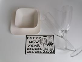 DIY happy new year ; oud en nieuw 2021
