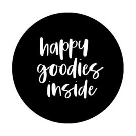 (sluit)sticker happy goodies inside