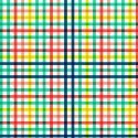 Cadeaupapier happy grid, vrolijk gekleurd blokjes patroon  70x 200 cm