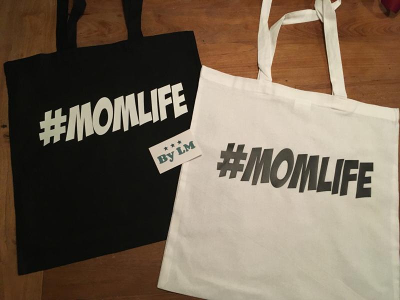 Katoenen tas #momlife