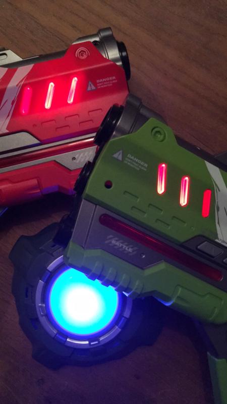 Stoer lasergame feestje; pimp je lijstje en lasergamen