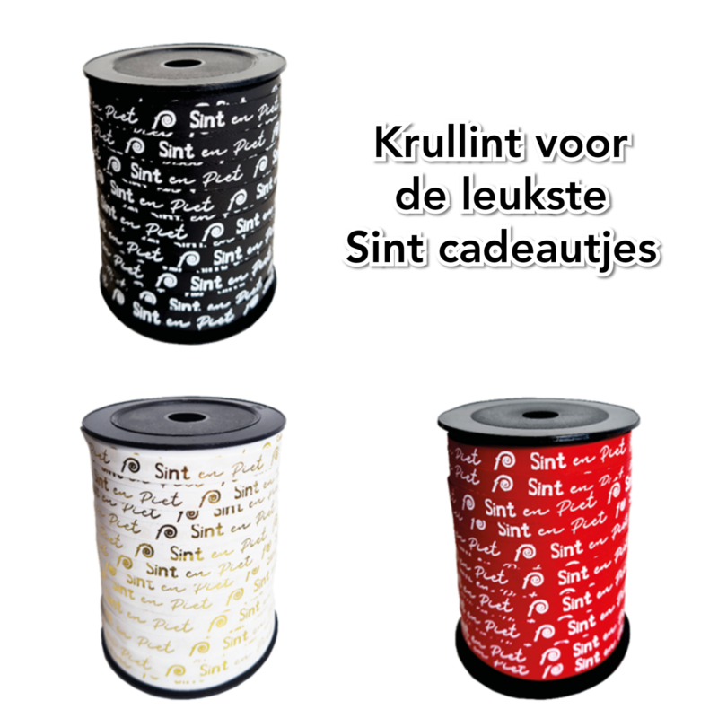 74. Krullint Sint en Piet 10 mm breed