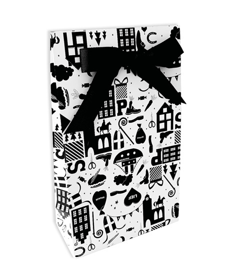 Luxe gift bag;  Sinterklaas