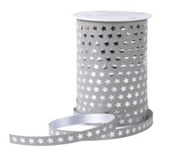 39. Krullint  sterren - taupe/zilver