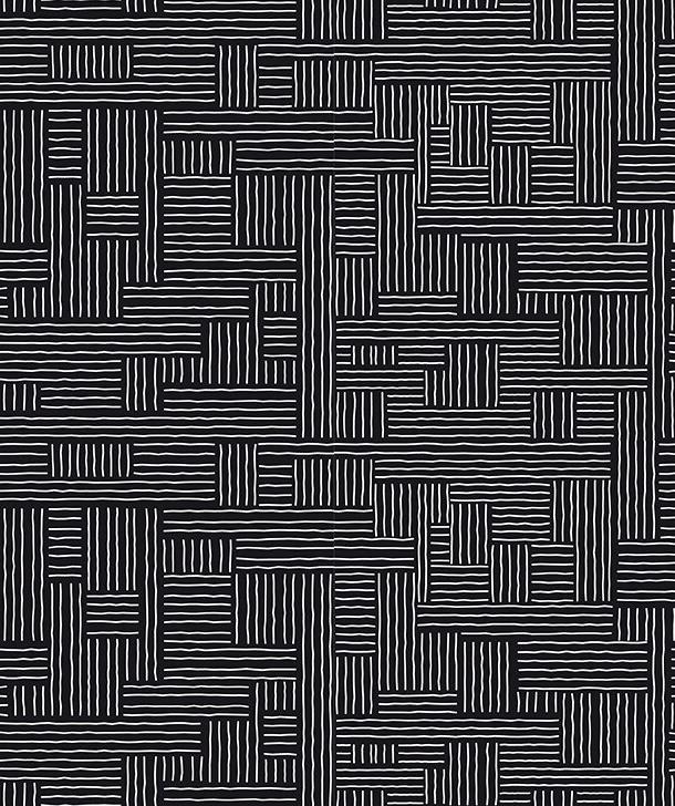 Cadeaupapier monochrome lines 70x 200 cm