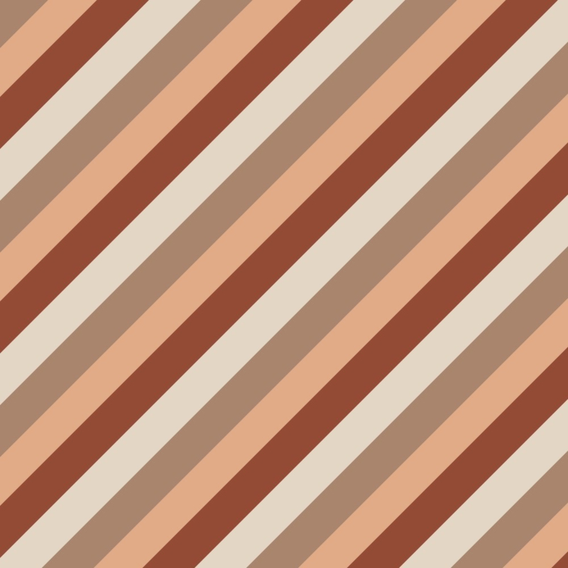 Cadeaupapier diagonaal terra 70x 200 cm