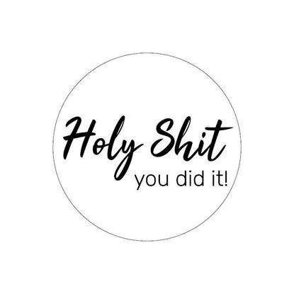 (sluit) holy shit you did it!