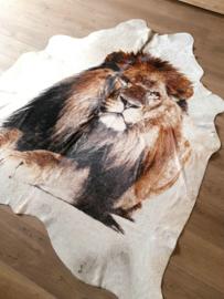 Koeienhuid leeuwen leeuw!