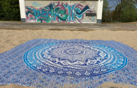 XXL Strandlakens  Mandala Roundies grand foulard
