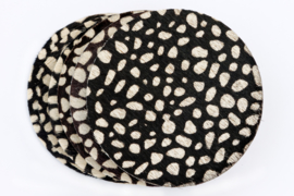 Koeienhuid onderzetters dalmatiërs print