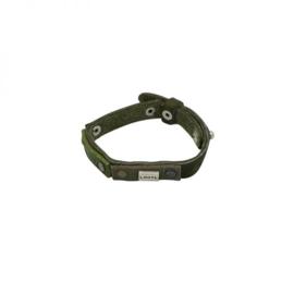 Groen ! Lederen armband!