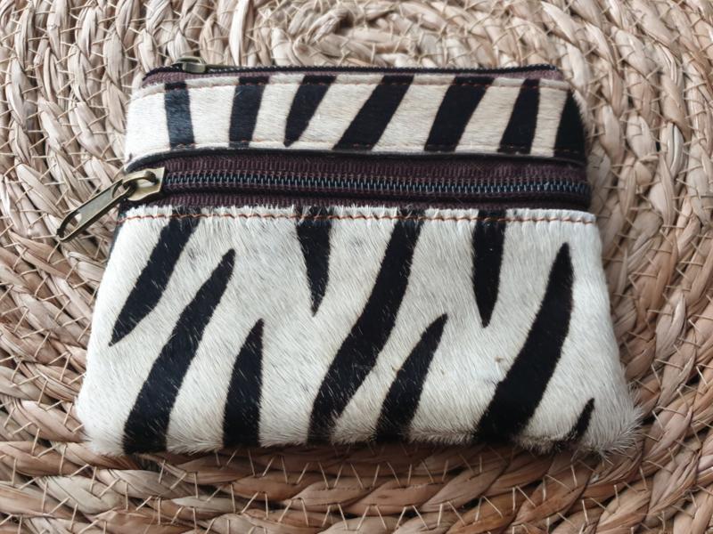 Zebra portemonneetje
