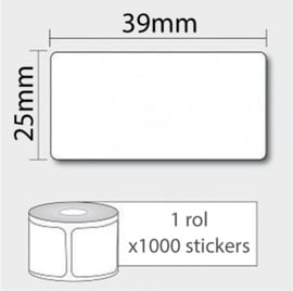 1 EAN Code + 1000 Barcode Stickers