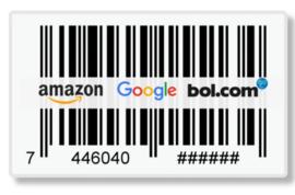 4725 EAN Stickers. Verschillende oplages