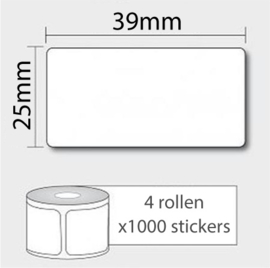 4 EAN Codes + 4000 Barcode Stickers