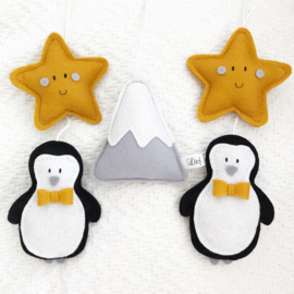 Boxmobiel set pinguin