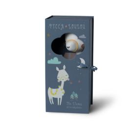 Knuffel Lama in geschenkdoos (27cm) Picca LouLou