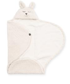 Wikkeldeken Bunny 100x105cm - Off-White