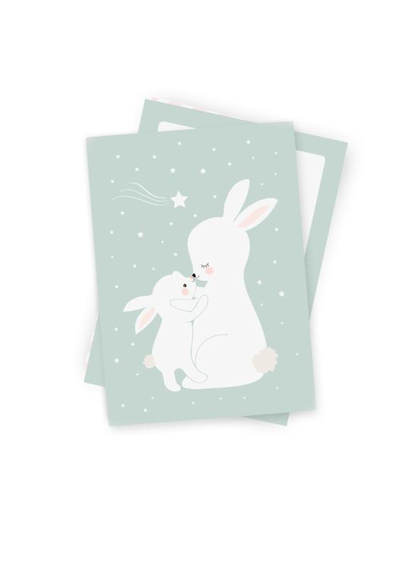 Kaart konijntjes