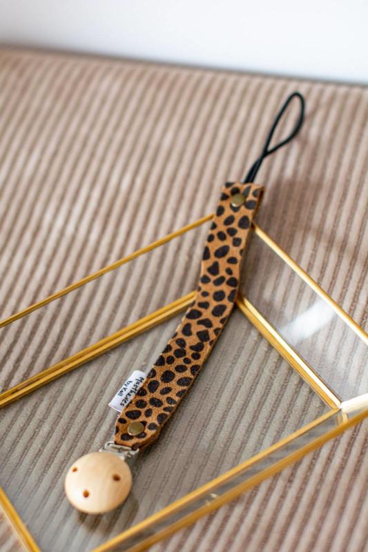 Speenkoord cheetah bruin