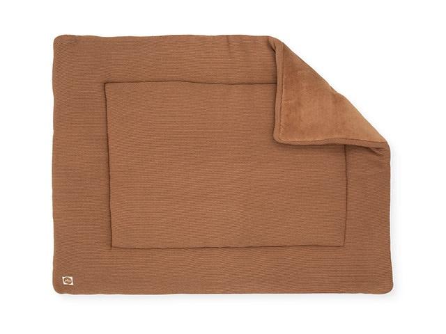 Boxkleed knit caramel 80x100cm