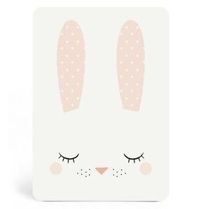 Kaart bunny girl