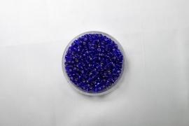 Miyuki Rocailles, 8/0 , Silver Lined Cobalt, kleurnummer 20