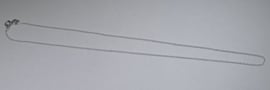 Ketting, sterling zilver, 16 inch