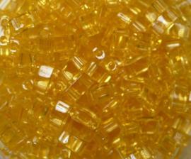 Miyuki Half Tila Beads, 5x2,3 mm , Topaz, kleurnummer 132