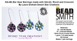 Gratis patroon: Ear Gear Earrings