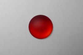 Lunasoft Cabochon Rond 24 mm, Cherry