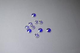 6 mm Crystal AB Swarovski Element Margarita's