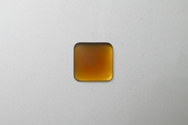 Lunasoft Cabochon Vierkant 17 mm, Copper