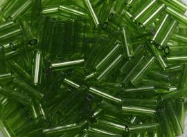 Miyuki B158ugles, 6mm, Transparent Olive, kleurnummer